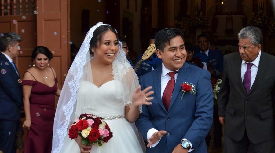 Armando y Gabriela se unen en matrimonio