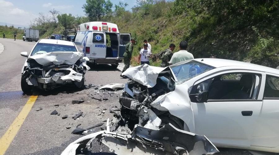 Accidente en la carretera 175 | El Imparcial de Oaxaca