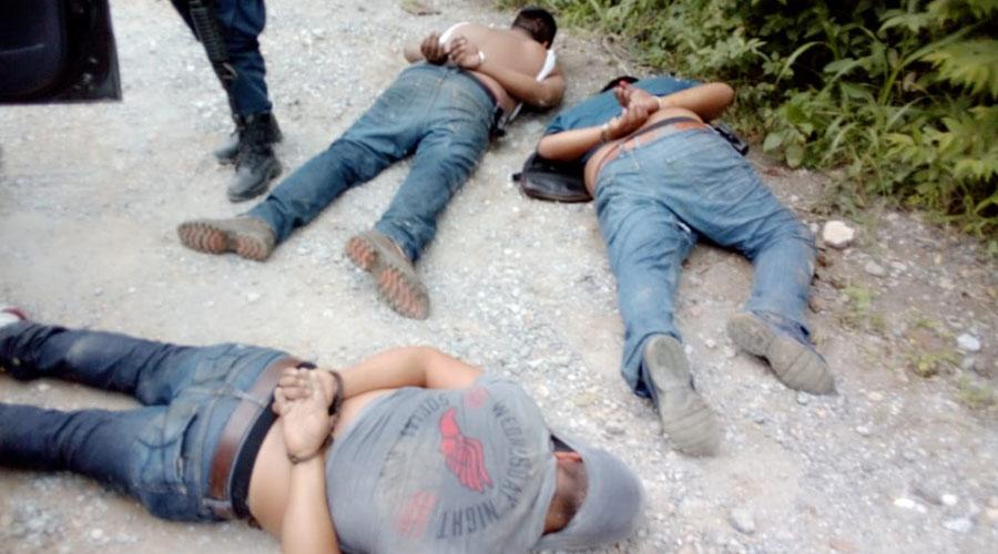 Se enfrenta policías y delincuentes en el Istmo