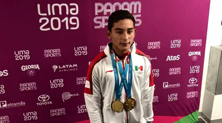 """Video: """"Hasta los flojos pueden lograr algo"""", dice Kevin Berlín medallista panamericano   El Imparcial de Oaxaca"""