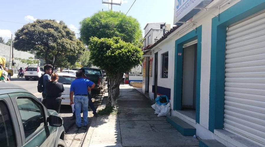 Saquean tienda de celulares en el Infonavit Primero de Mayo