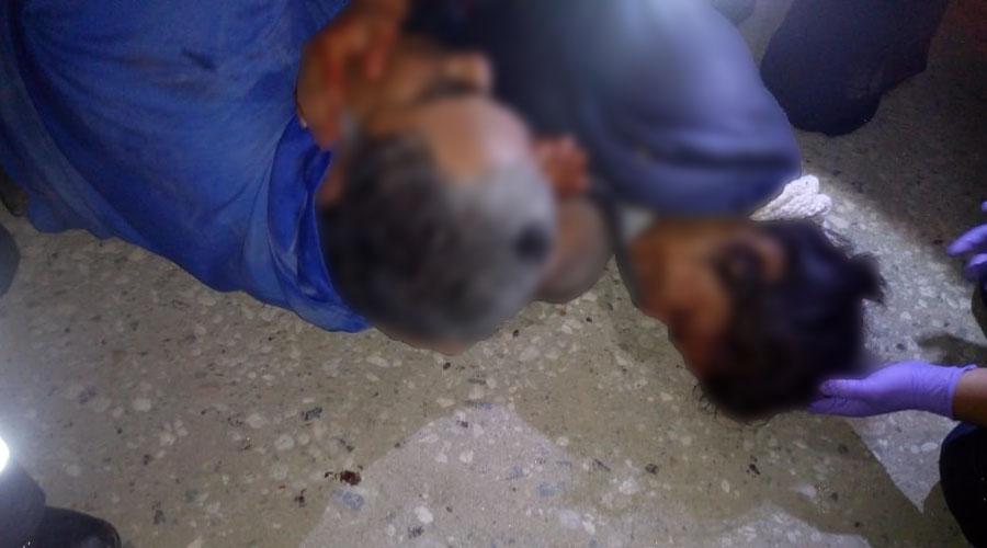 Padre e hija son atropellados en la Central de Abasto