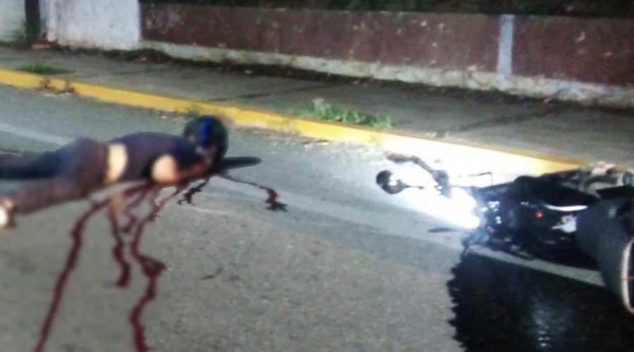 Acribillan a motociclista en Tehuantepec