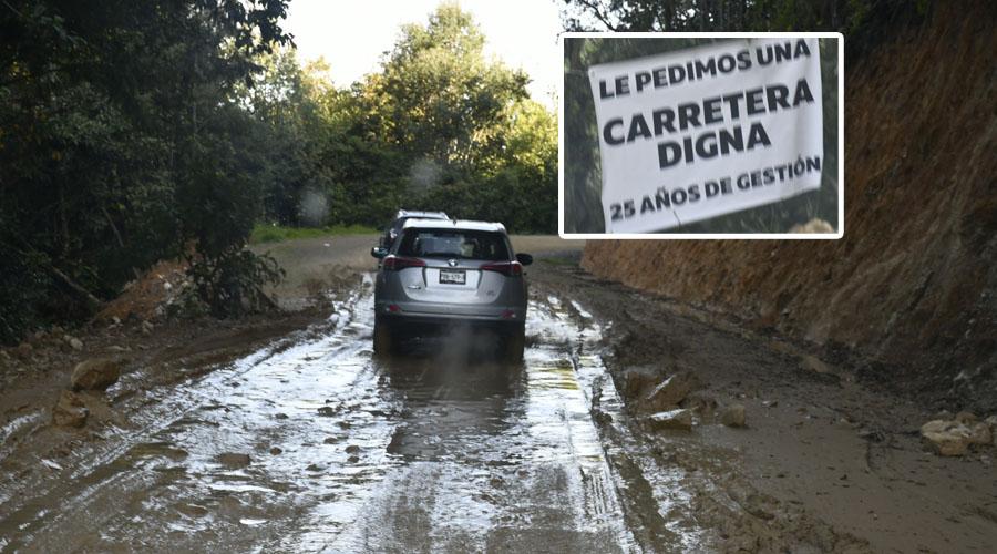 Universidad, medicinas y carreteras, compromiso de AMLO en Villa Alta