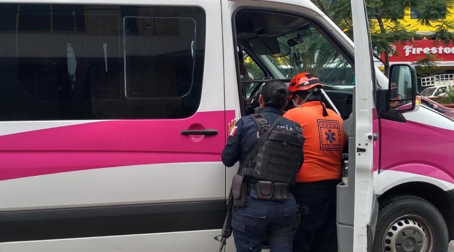 Fallan los frenos y se estampa contra patrulla en Tuxtepec | El Imparcial de Oaxaca