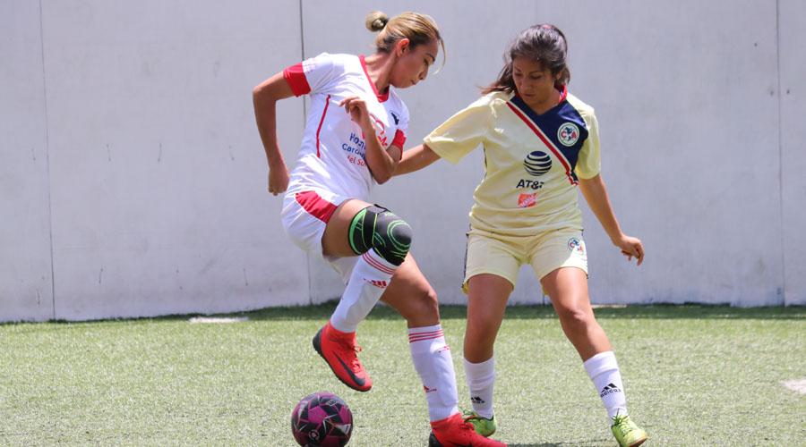 Doble triunfo de los Delfines en la Liga Premier Femenil