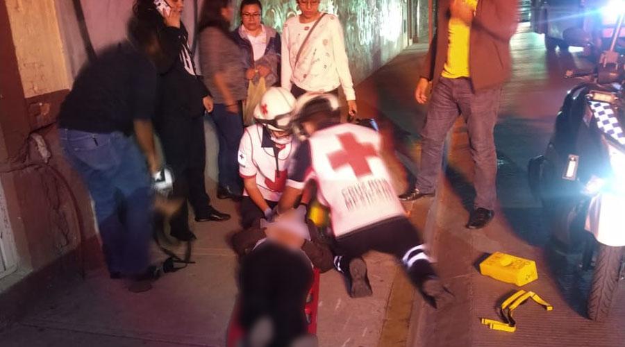 Atropella a mujer en el barrio del exMarquesado y escapa del lugar