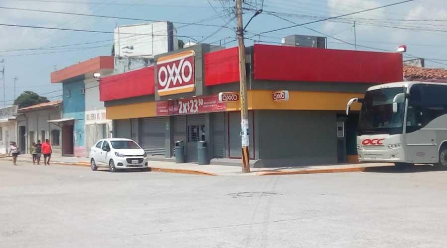 Se llevan caja fuerte de Oxxo en Unión Hidalgo | El Imparcial de Oaxaca