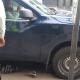 Arrolla moto-bicicleta de policía vial del estado en la colonia Miguel Alemán
