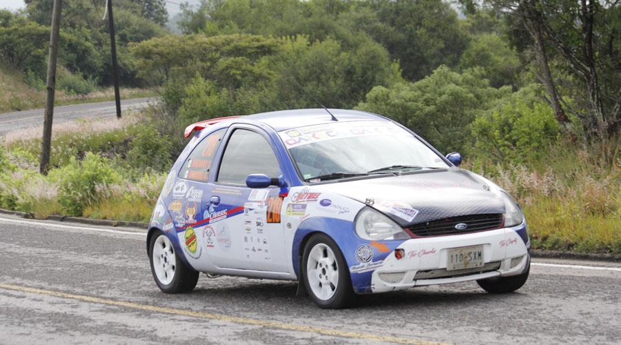 Va El Flaco por el triunfo en el XVI Rally Sierra Juárez
