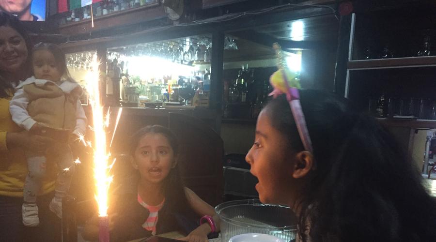 Cumpleaños de Yara