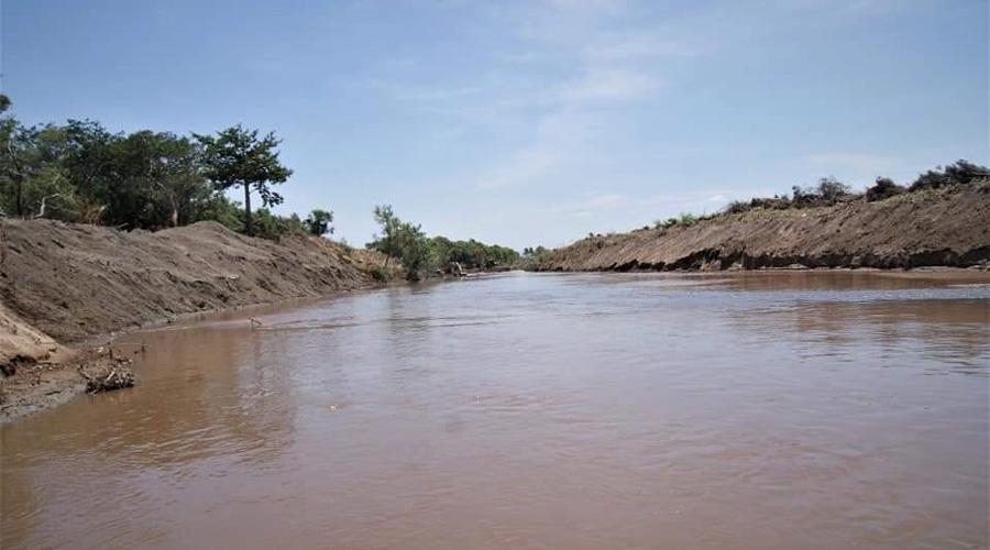 Buscan sanear el río de Las Nutrias