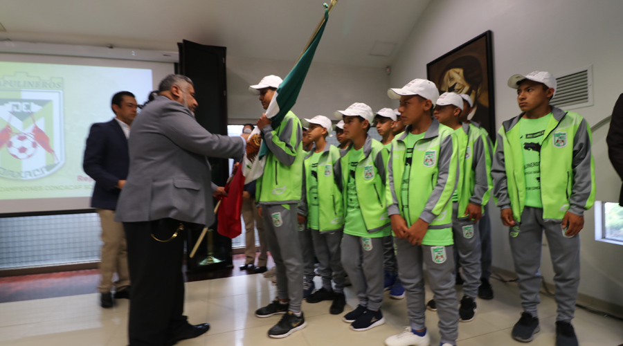 Van por México Chapulineros Sub 13