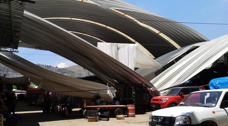 Piden rehabilitar techado en el Mercado de Abasto | El Imparcial de Oaxaca