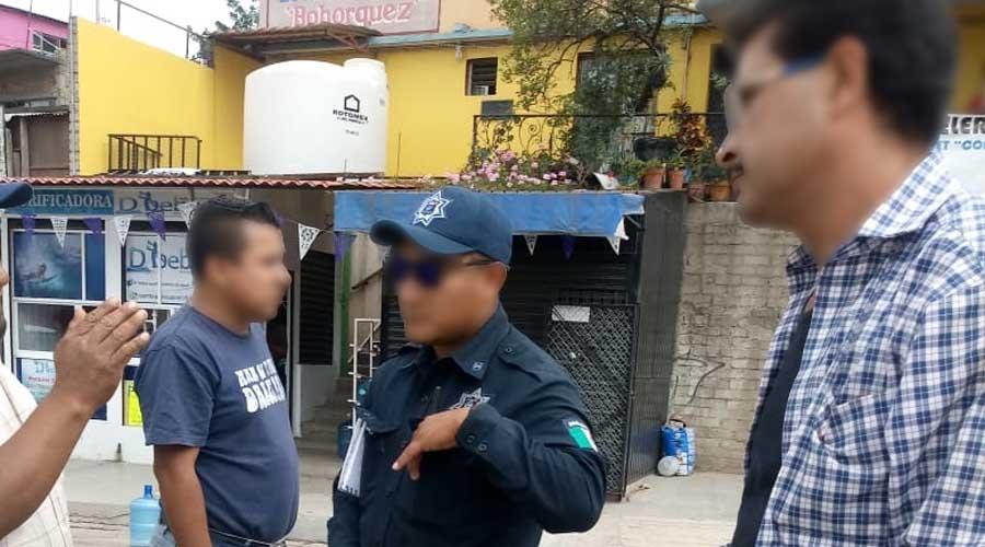 Víctima de accidente en San Juan Chapultepec es abandonada a su suerte