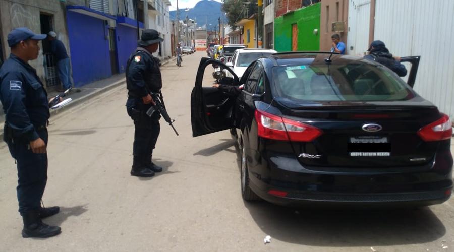 Localizan vehículo en la Central de Abasto con reporte de robo