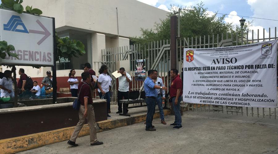 Continúa paro de labores  en hospital de Pinotepa Nacional | El Imparcial de Oaxaca