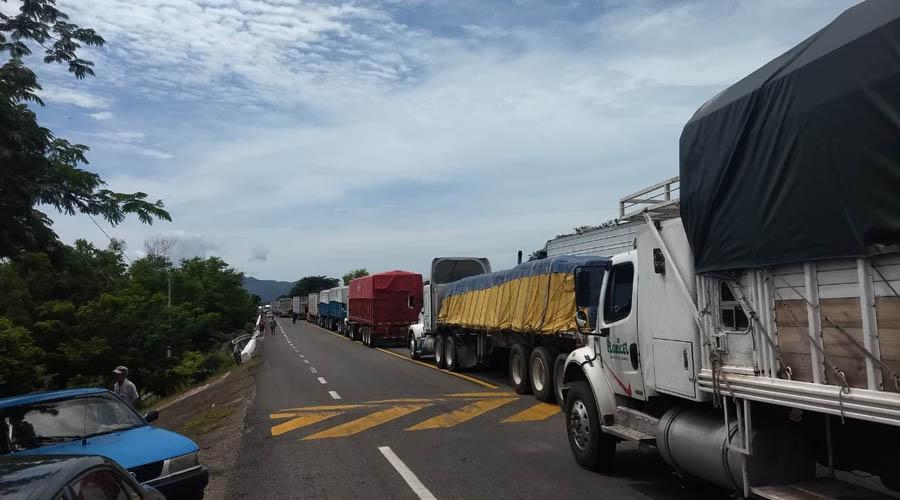 Continúan los bloqueos en el Istmo de Oaxaca