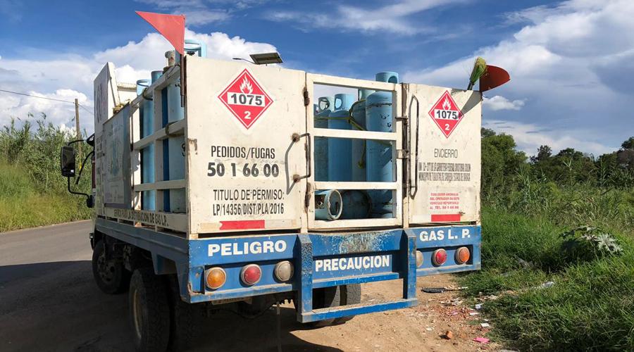 Grupo armado asalta a repartidor de gas en Xoxocotlán | El Imparcial de Oaxaca