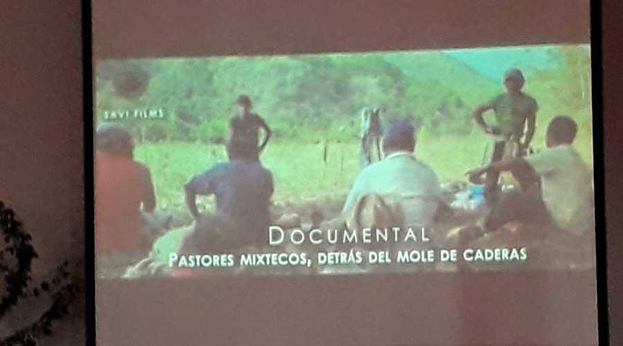 Presentan documental sobre los pastores en Huajuapan