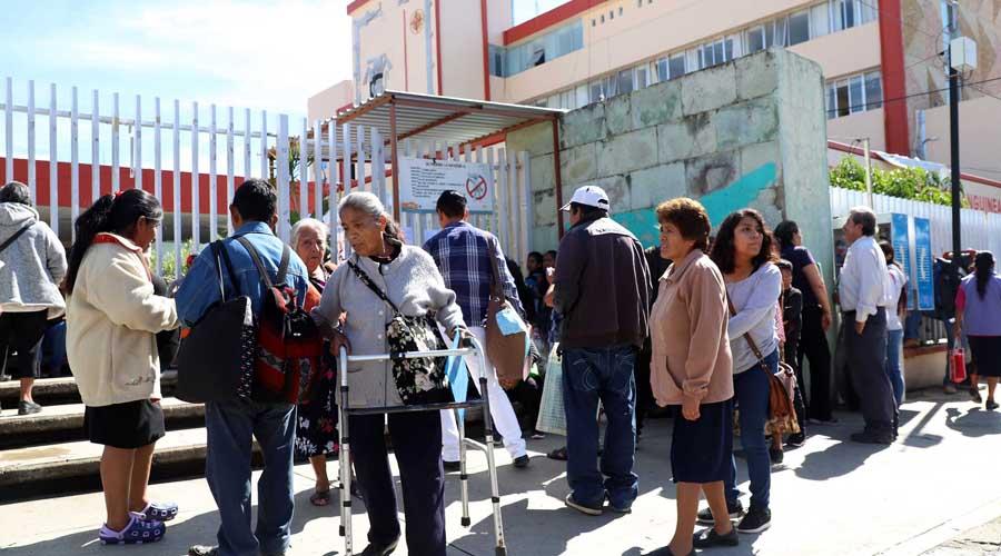 Persiste desabasto en el Hospital Civil de Oaxaca | El Imparcial de Oaxaca