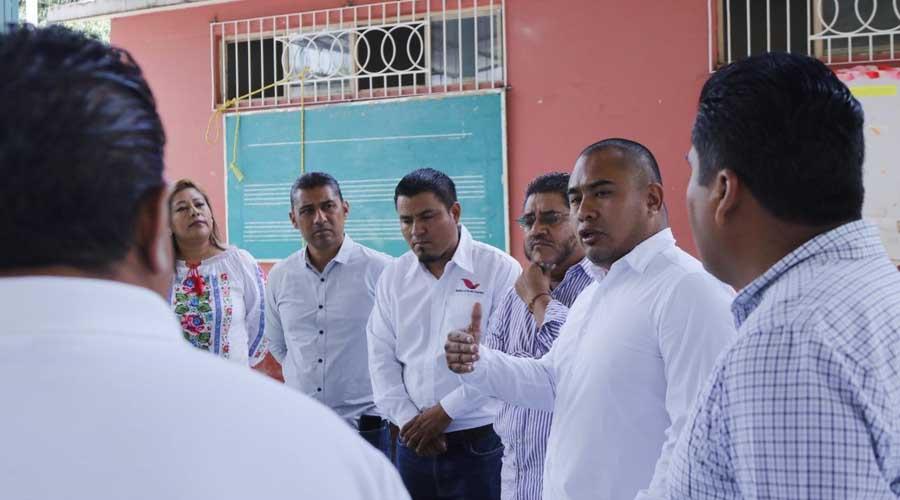Reafirma edil de Santa Lucía del Camino compromiso con la educación | El Imparcial de Oaxaca