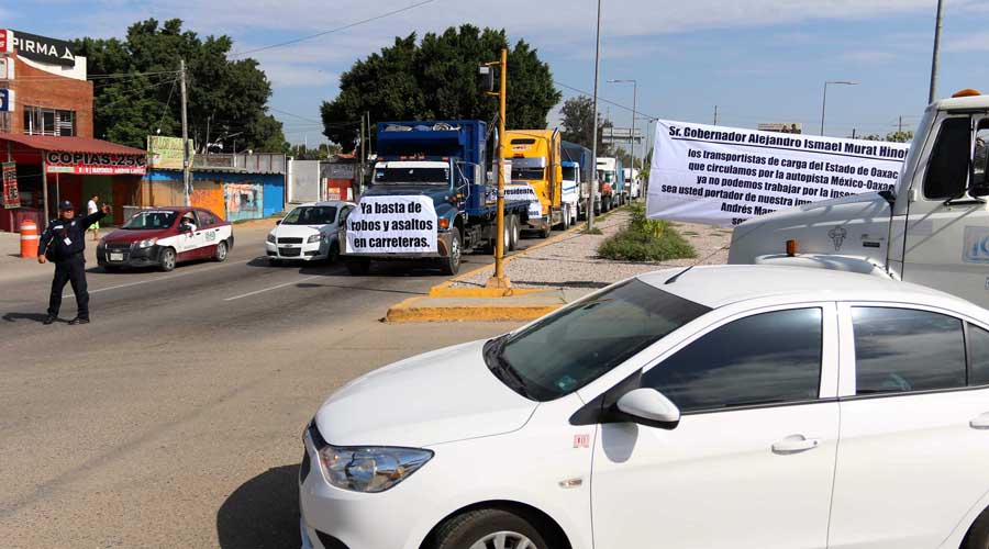 Aumentan asaltos en carreteras de Oaxaca y Puebla