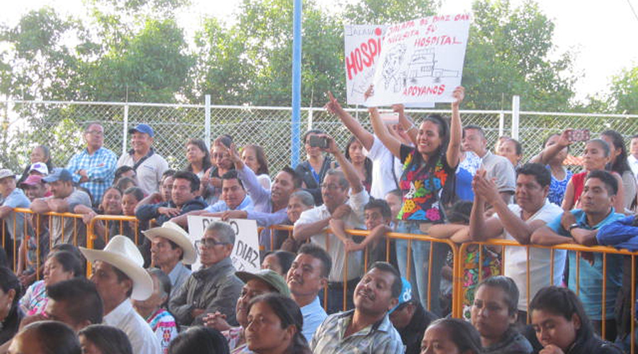 Exigen conclusión de Hospital Regional en Jalapa de Díaz | El Imparcial de Oaxaca