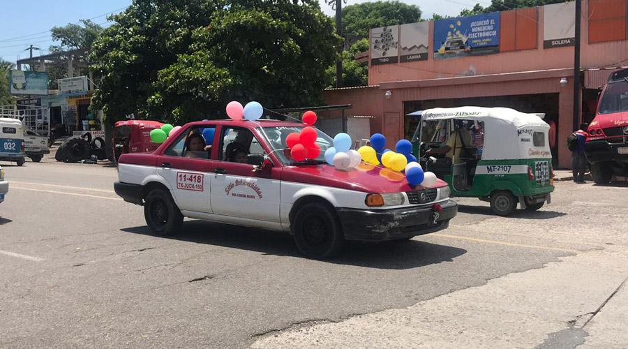 Exigen taxistas atender problema del transporte público en el Istmo