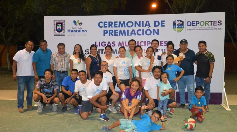 Concluyen Ligas Municipales de Huatulco