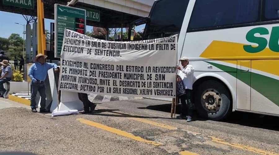 Habitantes de San José Xochixtlán exigen ser tomados en cuenta