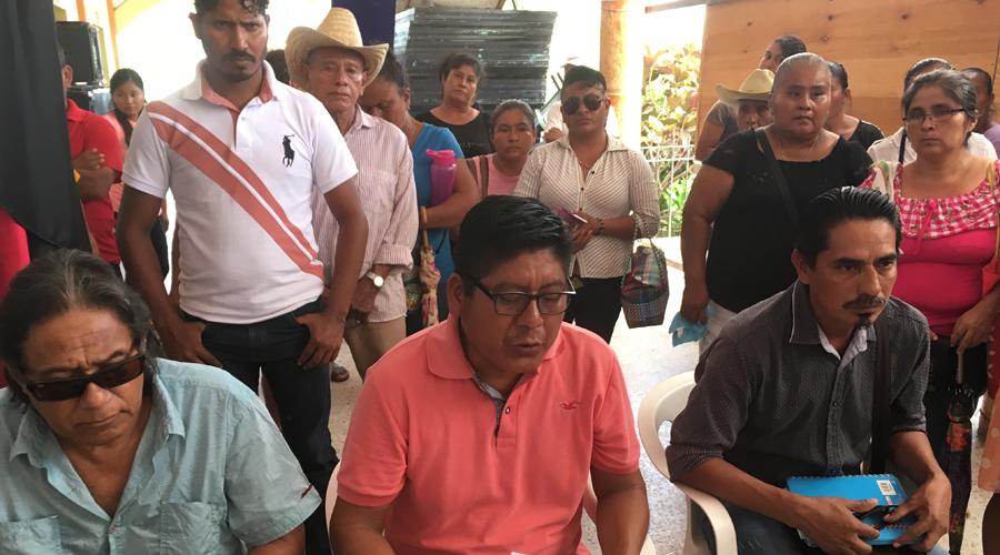 Integrantes de la UCIDEBACC exigen la liberación de Teófilo García García | El Imparcial de Oaxaca