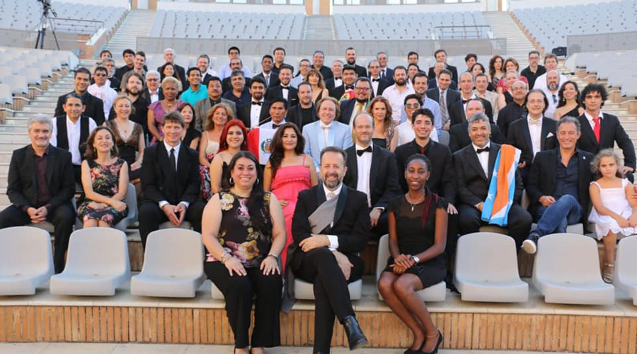 De la Mixteca de Oaxaca a la Cumbre de Directores de Orquesta