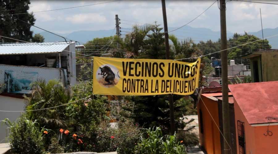 La inseguridad le cambió la vida a la población de Oaxaca