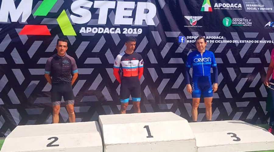 Oaxaqueño es campeón de la Nacional Máster de Ciclismo de Ruta 2019