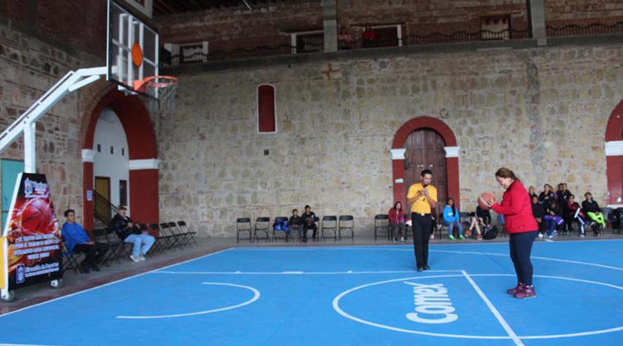 Celebran torneo en Tlaxiaco