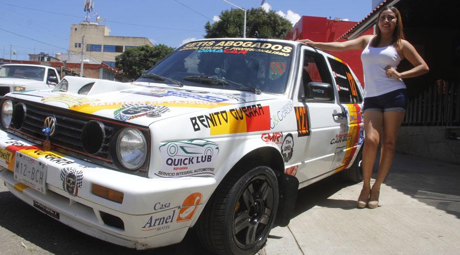 Quieren triunfar en casa en el Rally Sierra Juárez