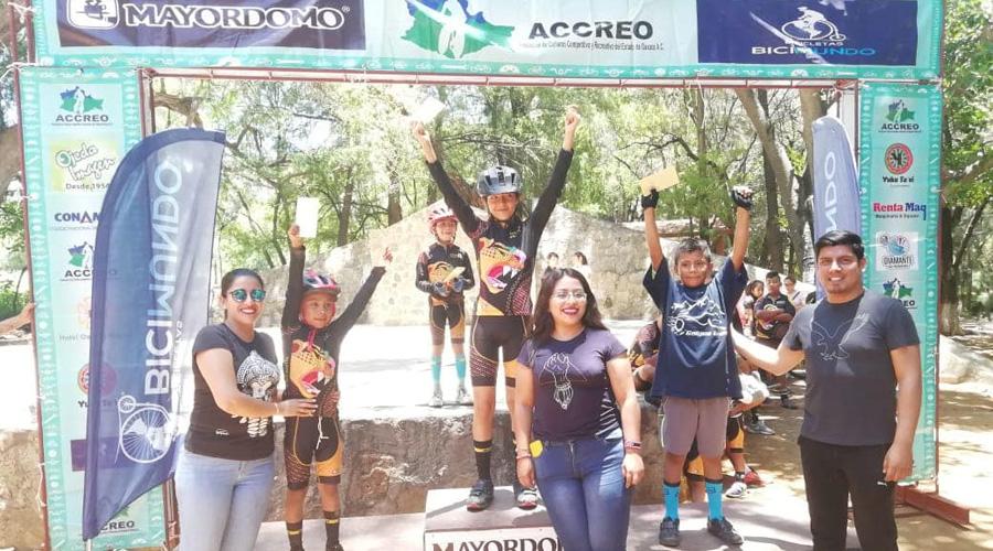 Se impuso la juventud en el ciclismo de montaña MTB