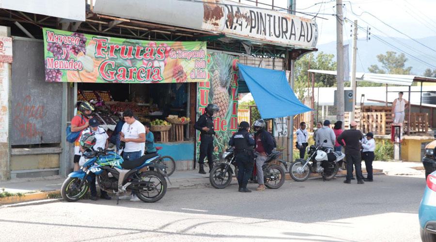 En operativo de motos, cayó de todo en Santa Lucía del Camino