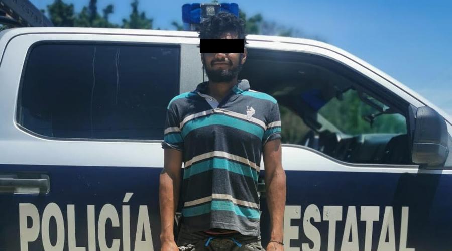 Caen dos sujetos durante operativo en Juchitán