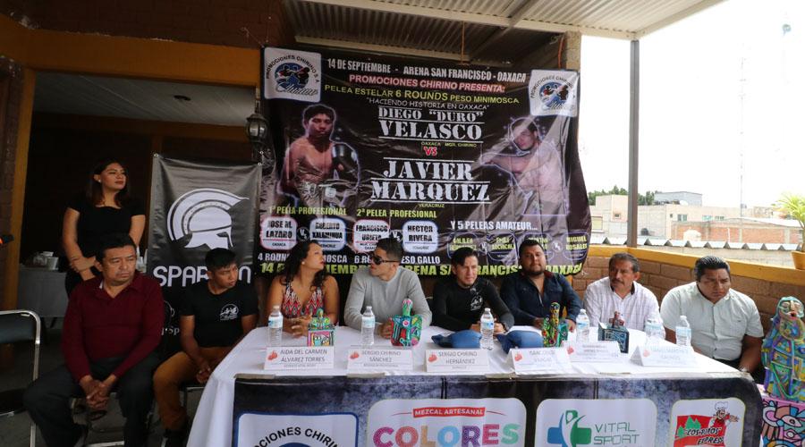 Impulsan en Oaxaca el boxeo profesional