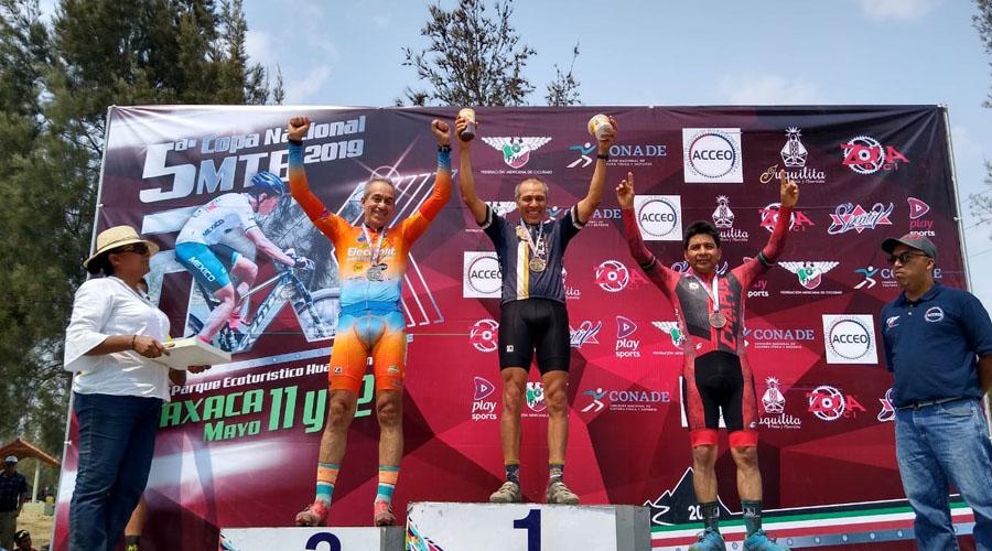 """El """"Chapulín"""" volvió a brincar en ciclismo de montaña"""