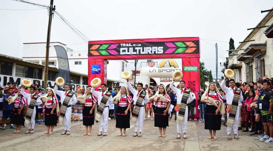 La Mixteca disfruta de Trail de las Culturas