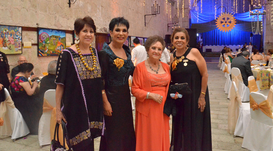 Presentan plan de trabajo el Club Rotario Guelaguetza