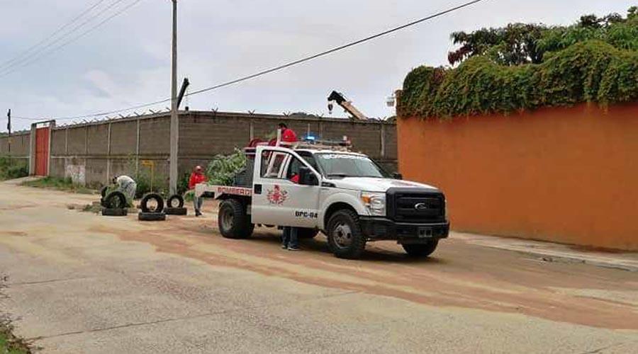 Socavón afecta a vecinos de Salina Cruz