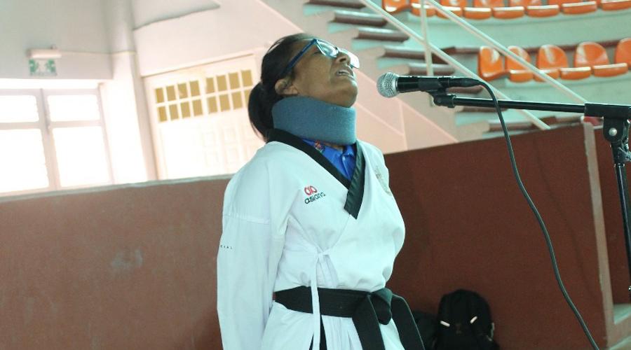 Promueven Taekwondo para personas con discapacidad