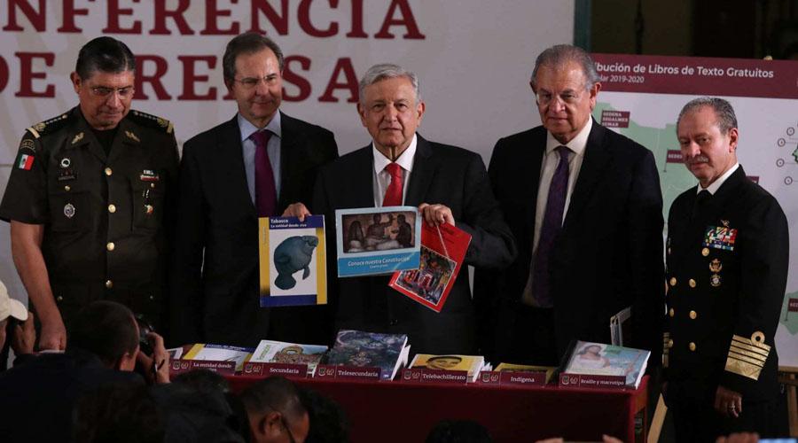 Nuevos libros de historia para primaria incluyen a AMLO en su contenido | El Imparcial de Oaxaca