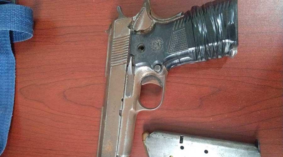 Caen cuatro con armas y drogas en Juchitán
