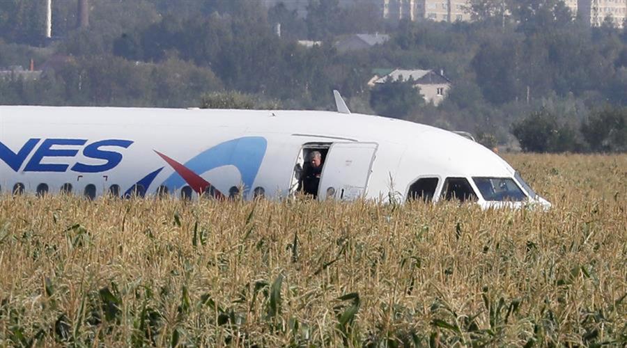 Video: vuelo comercial ruso aterriza de emergencia tras chocar con parvada | El Imparcial de Oaxaca