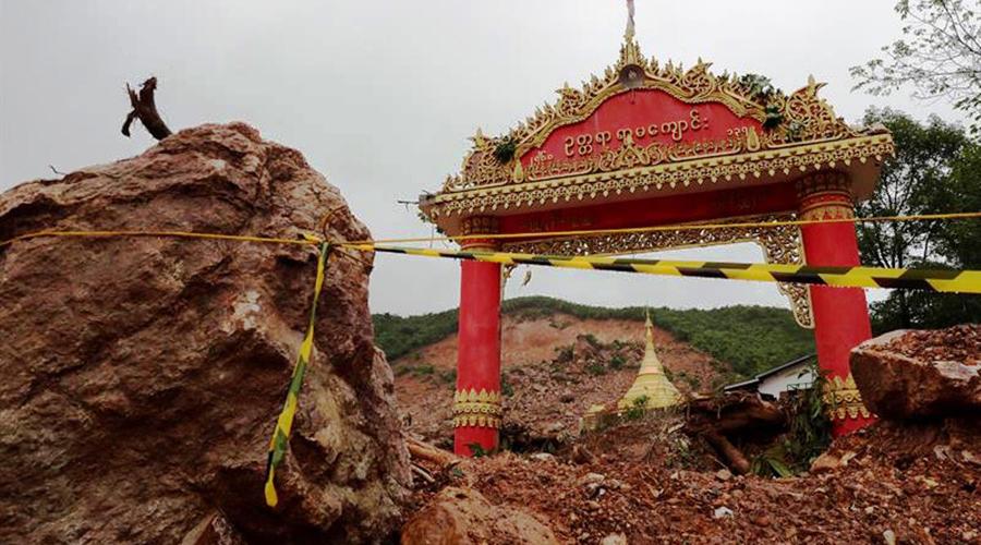 Lluvias causan derrumbe en Birmania; al menos 41 muertos | El Imparcial de Oaxaca